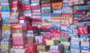 Weihnachtspakete 2013 - Vorbereitungen