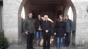 Begegnung mit Bischof Franjo Komarica