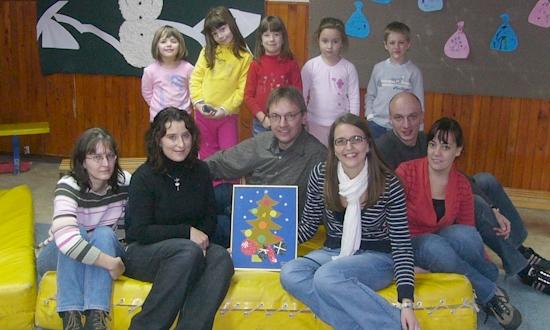 Dezember 2007: Angela Donhauser, Martina Bayer, Uli Iberer, Melanie Knarr, Rainer Kohl, Sonja Lang (mit Stationen und Begegnungen in Velika Kladusa, Banja Luka, Novi Travnik)