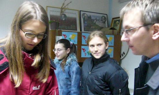 Januar 2007: Melanie Knarr, Uli Iberer (mit Stationen und Begegnungen in Zagreb, Maljevac, Banja Luka)