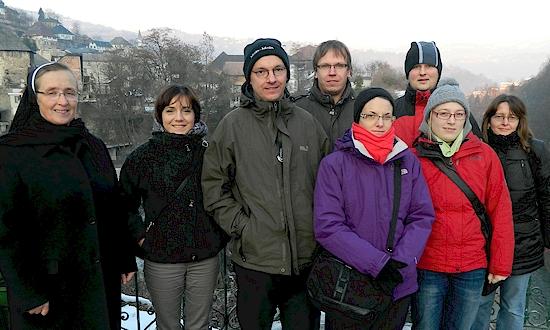 Dezember 2011: Ivana Kaser, Uli Iberer, Thomas Iberer, Barbara Iberer, Markus Schemp, Sophia Reischer, Angela Donhauser (mit Stationen und Begegnungen in Velika Kladusa, Banja Luka, Jaice)