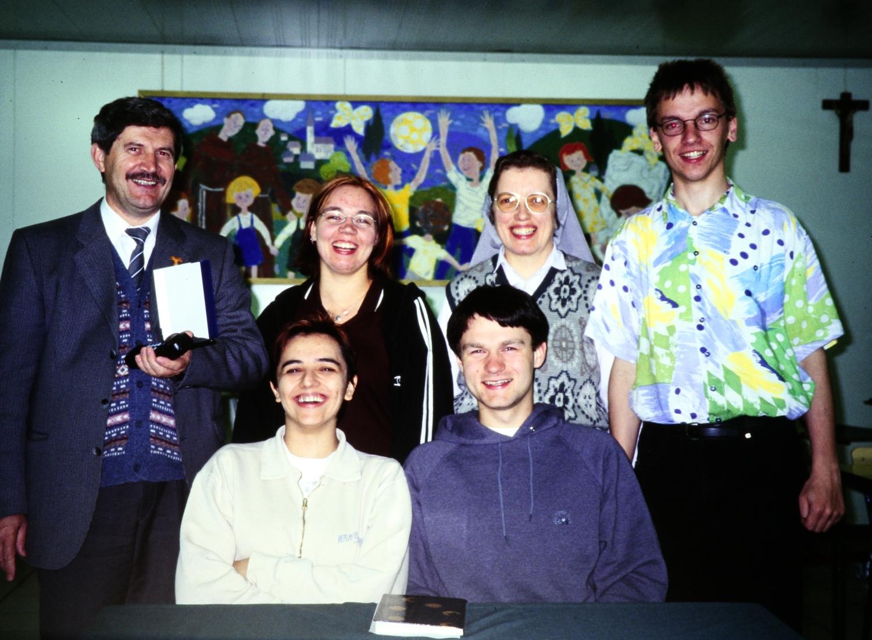 April 1998: Milena Mandic, Brigitte Wagner, Uli Piehler, Uli Iberer (mit Stationen und Begegnungen in Zagreb, Slavonsik Brod, Vukovar)