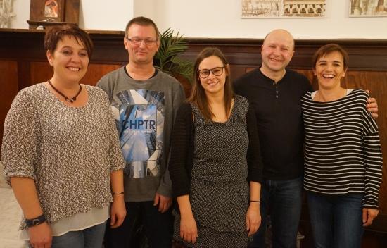 Dezember 2017: Elke Eidenhammer, Heinz Niklas, Julia Donhauser, Christof Graf, Milena Spert (nicht auf dem Foto: Mira Sperber)